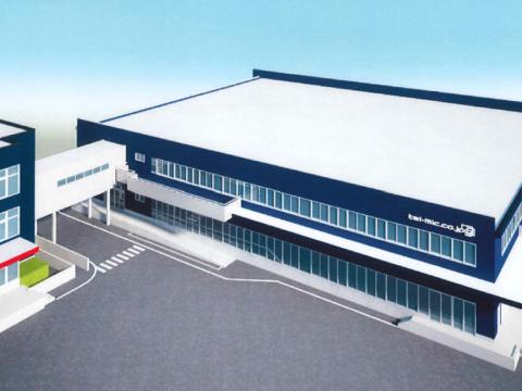【中部経済新聞_掲載】常滑の出荷センター増設、製造機能も20年稼働へ