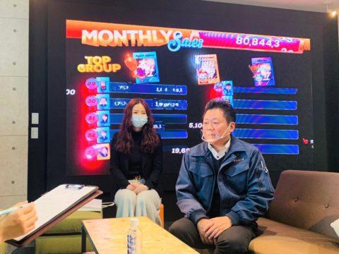 刈谷市長 稲垣様が来社され、KATCHに放映されました。