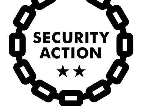 【情報セキュリティ】「SECURITY ACTION」二つ星を宣言しました★★